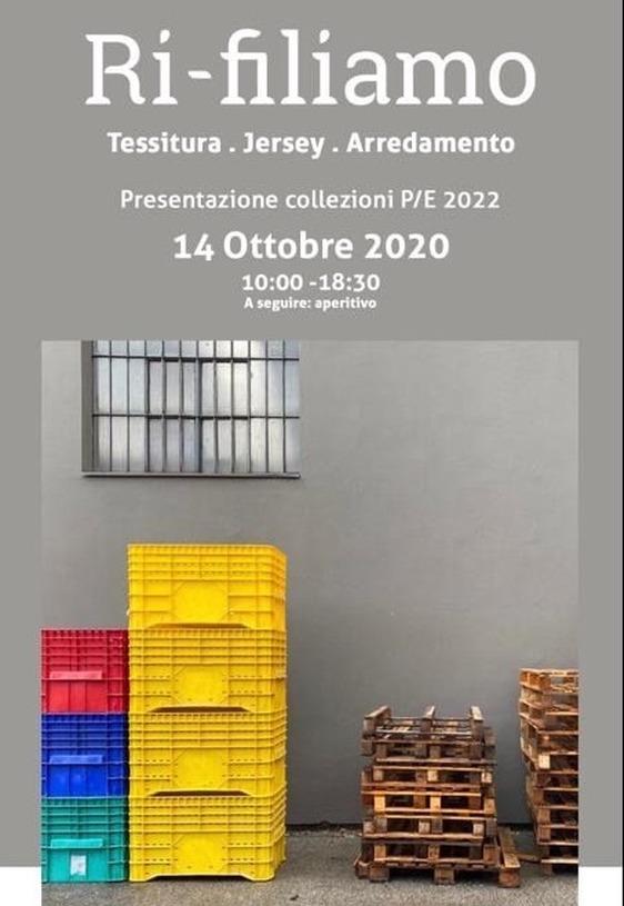 Ri-filiamo, al Pecci la presentazione delle collezioni per la primavera estate 2022